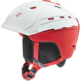 UVEX p2us - Casque - rouge/blanc